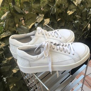 Free People Tennis Shoes Croc Look Detail Size 8